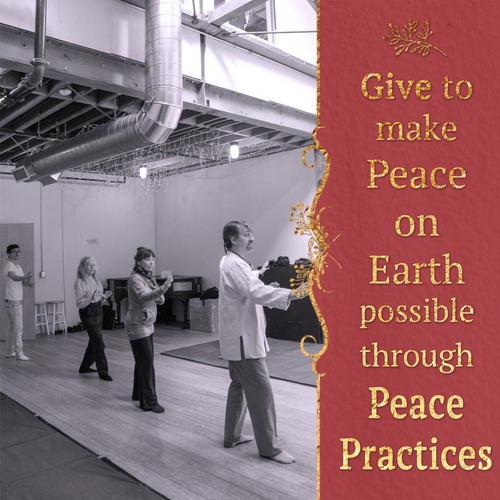 Giving Tue 20151201 through 1231+Gallery+Give to make Peace on Earth
